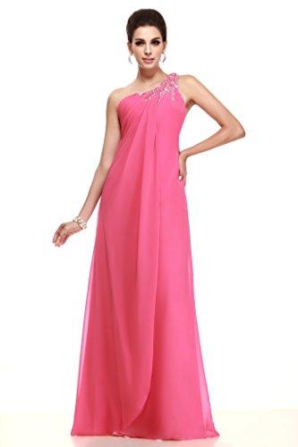 75a728e595de Bridess Greece One Shouler Long Chiffon Evening Dresses for Pregnant Women  US16