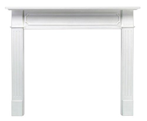 Find Discount Pearl Mantels 520-48 Berkley Paint Grade Fireplace Mantel, Interior Opening 48-inch Wi...