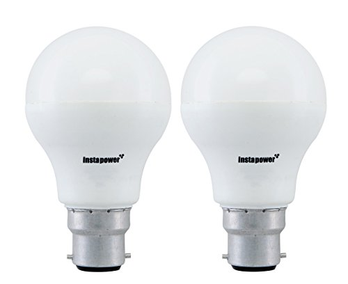 Instapower 9W B22 Cool Day Light LED Bulb (Pack of 2) Image