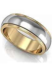 Tungsten Wedding Ring Band Men/Women 18k Gold Plated Comfort Fit 6MM/8MM Retail Quality Lifetime Exchange