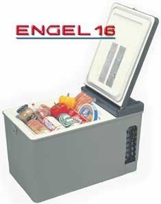 Engel Mt17 Portable Fridge And Freezer - 16 Quarts - 12 Volt Dc Or 110 Volt Ac Gray