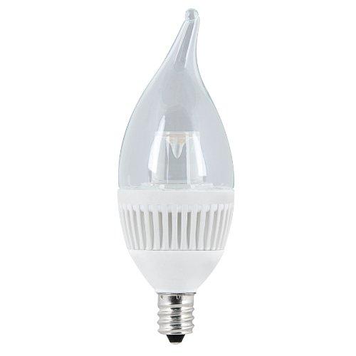 Utilitech 394796 4.8-Watt (40W) Warm White (3000K) Decorative Led Bulb