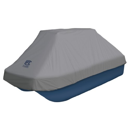 Classic Accessories Pond Boat Cover, 8-10-Feet, Grey primary