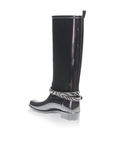 Favolla Botas de agua Ribot Negro / Gris