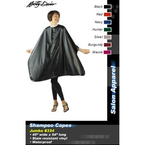 Betty Dain Shampoo Cape #324 * Hunter Green