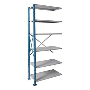 """H-Post Shelving High Capacity Open Type Starter Unit with 6 Shelves Size: 87"""" H x 36"""" W x 24"""" D"""