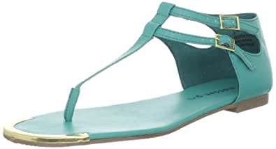 Madden Girl Women's Surrge Ankle-Strap Sandal,Teal Paris,7 M US