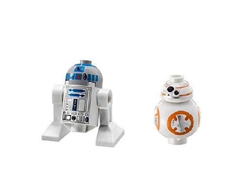 LEGO R2-D2 and BB-8 Minifigures