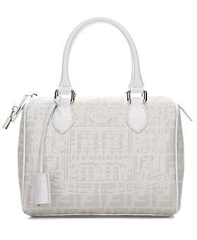 Fendi Palazzo Print Forever Boston Bag