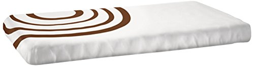 Nook Fitted Crib Sheet, Bark Ripple