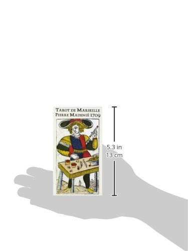 Tarot de Marseille Pierre Madenié 1709 (French Edition) relojes full stainless steel men s sprot watch black and white face vx42 movement