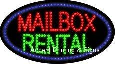 Mailbox Rental Flashing & Animated Led Sign (High Impact, Energy Efficient)