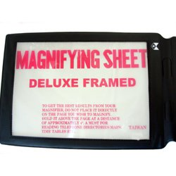Full Page Reading Book Magnifying Glass (Full Page Reading Magnifier compare prices)