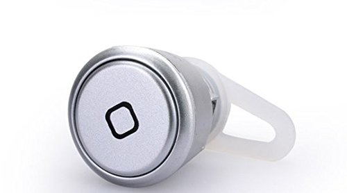 O'Plaza ® Silver New Universal Super Small Wireless Bluetooth Mini Headset Earphone Headphone For Call Phone