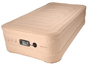 Amazon SimplySleeper Raised Twin Air Bed with Built