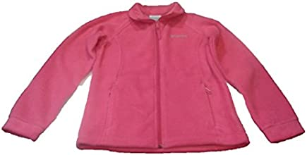Columbia Girls Berrey Ranch Fleece Youth Jacket M Pink