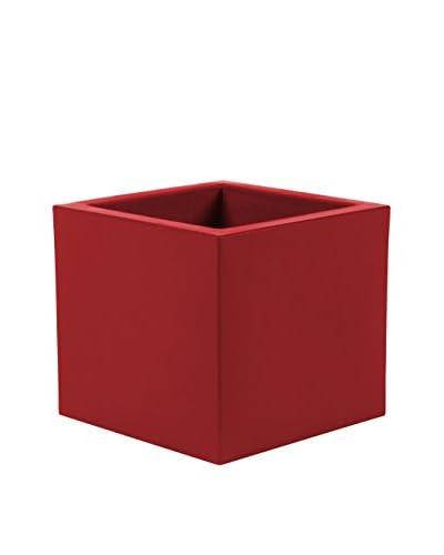 Contemporary Living bloempot rode kubus