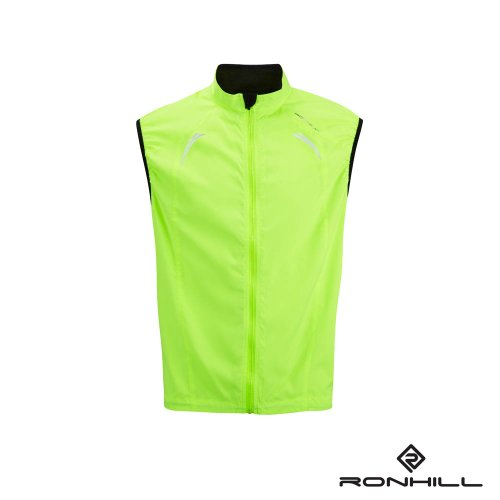 Ron Hill Mens Vizion Gilet Running Jacket