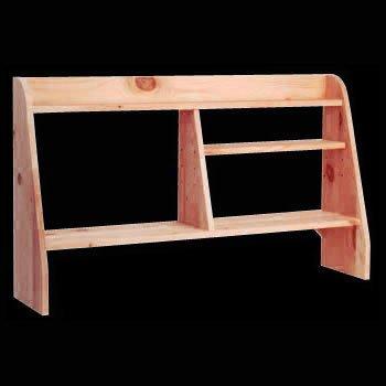 Buy Low Price Comfortable Computer Desks Heirloom Pine, Computer Shelf Heirloom Pine 44 in. W x 26 in. H (B002O2816W)