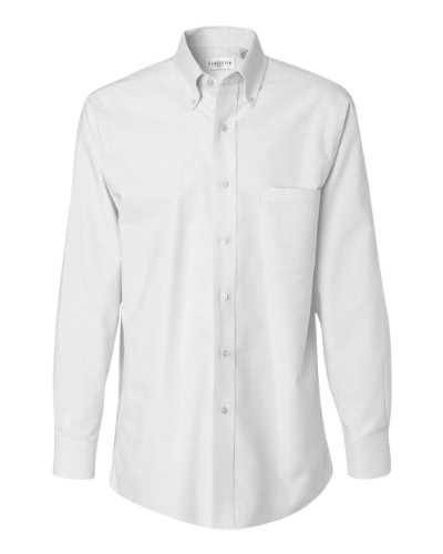 Van-Heusen-Long-Sleeve-Oxford-Shirt-13V0040-White