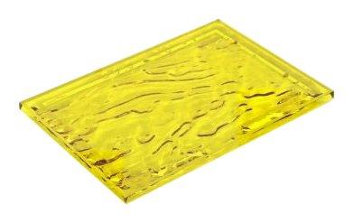 """Kartell 1200VG - Vassoio """"Dune"""", Colore: Giallo"""