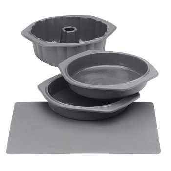 Silicone Solutions Gray Cake Baking Set - Buy Silicone Solutions Gray Cake Baking Set - Purchase Silicone Solutions Gray Cake Baking Set (, Home & Garden, Categories, Kitchen & Dining, Cookware & Baking, Baking, Bakeware Sets)