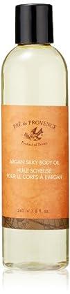 Pre De Provence Argan Silky Body Oil 8 Fluid Ounce