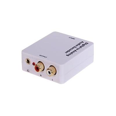 Generic DTS/ AC3 SPDIF Coaxial Digital to Analog L/R Audio Decoder Converter 3.5mm Jack