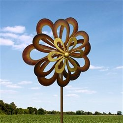 Dancing Daisy Windmill Wind Spinner 7 Feet