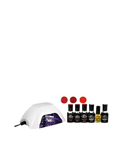 UV-Nails UV Lamp and Gel Polish 6-Piece Set, Hot & Steamy