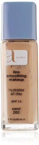 Almay Line Smoothing Liquid Makeup, Sand, 1 Fluid Ounce