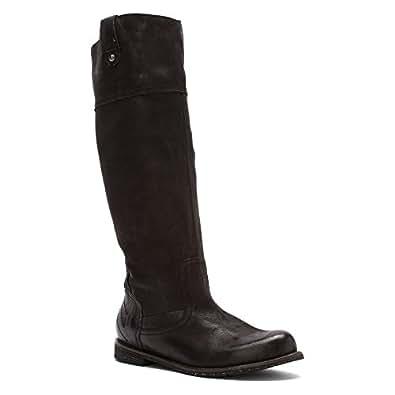 OTBT Women's Petaluma Black Leather 6.5 M US