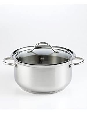 Martha Stewart Collection 8.5 Quart Stainless Steel Casserole