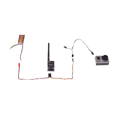 Andoer USB 90-Grad-AV-Video-Ausgang & 5V DC Power BEC Eingangskabel FPV für Gopro Hero 3 Kamera ( AV-Video-Ausgang, 5V DC Power BEC Eingangskabel, Gopro Held Kabel )