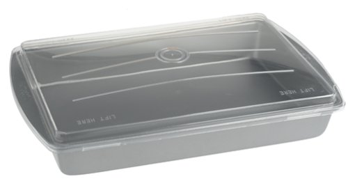 Duncan Hines Covered Cake Pan with Lid - Buy Duncan Hines Covered Cake Pan with Lid - Purchase Duncan Hines Covered Cake Pan with Lid (Chicago Metallic, Home & Garden, Categories, Kitchen & Dining, Cookware & Baking, Baking, Cake Pans, Square & Rectangular)