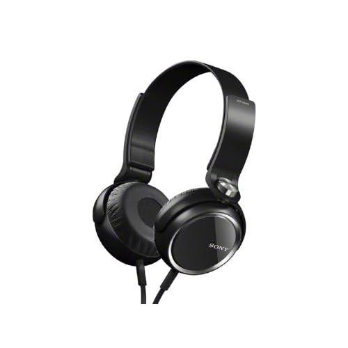 SONY MDR-XB400 BLACKの写真01。おしゃれなヘッドホンをおすすめ-HEADMAN(ヘッドマン)-
