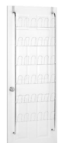 Whitmor  6060-195 Over The Door Shoe Rack, Chrome