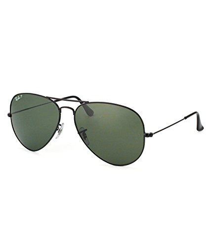 Ray-Ban RB3025 002 Medium Size 58 Aviator Sunglasses