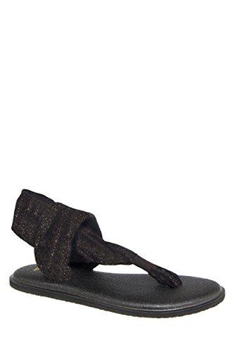 Yoga Sling 2 Metallic Flat Sandal