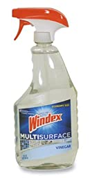 Windex Multi-Surface Cleaner with Vinegar - (26 oz. Trigger Spray) (4 Bottles) - AB-750-1-56