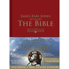 Bible Deluxe Edition, As Read by James Earl Jones (Audio CD). New Testament Only!