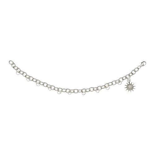 Waterford Crystal Snowflake Wishes Charm Bracelet Starter Kit