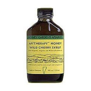 Отзывы Honey Gardens Wild Cherry Bark Syrup, 4 Ounce