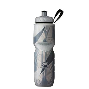 Polar Bottle Insulated Water Bottle (24-Ounce, Black Graphic )