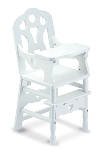Melissa-Doug-White-Wooden-Doll-High-Chair-With-Tray-1475-x-25-x-14-inches