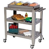 Cheap Broil King Family Size Quadruple Buffet Warming Cart with Four Individual Lids (B002JAJRAI)