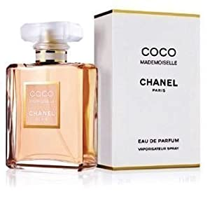 Coco Mademoiselle by Chanel for Women, Eau De Parfum Spray, 3.4 Ounce