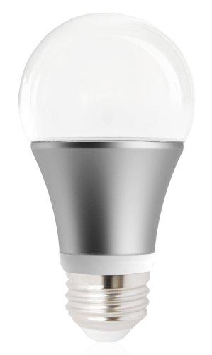 Kor 6.5 Watt A19 5000K Bright White Led Light Bulb, E26 Standard Household Base, 580 Lumen, Replacement For 40 Watt, Dimmable