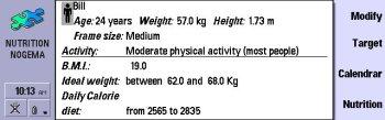 Nutrition Database Software