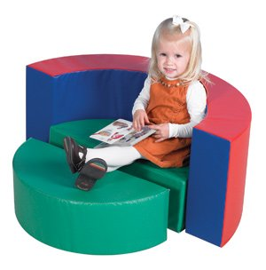 Childrens Factory Rocky Play Seating Set